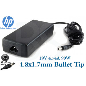 HP Laptop Notebook Charger Adapter 19V 4.74A 90W Bullet Tip 4.8x1.7