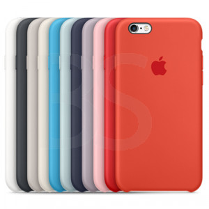 Apple Silicone Cover For iPhone 6S کاور اصلی اپل