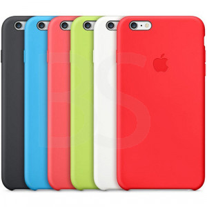 Apple Silicone Cover For iPhone 6 Plus کاور اصلی اپل