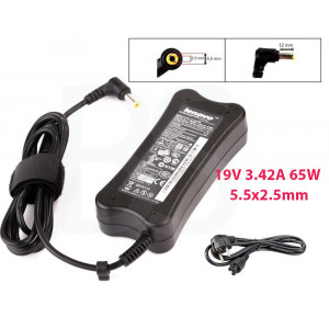 Lenovo Laptop Notebook Charger Adapter 19V 3.42A 65W 5.5x2.5