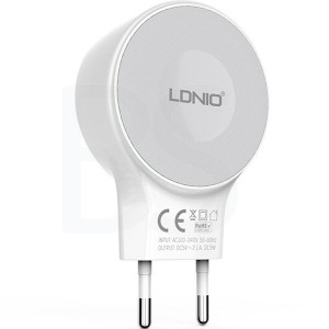 LDNIO A2269 Wall Charger With microUSB Cable