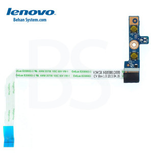 Lenovo IdeaPad G400 Laptop Notebook Power Switch Button Board Flex Cable LS-9631P