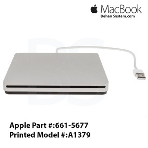 Apple USB SuperDrive A1379 Macbook air 13 A1369 LAPTOP NOTEBOOK- 661-5677