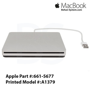 Apple USB SuperDrive A1379 Macbook air 11 A1370 LAPTOP NOTEBOOK - 661-5677