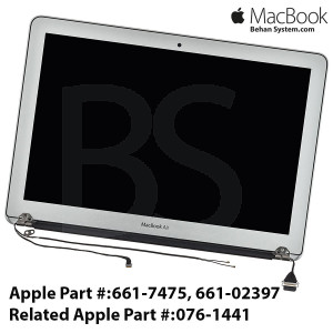 "Display Assembly LED Apple MacBook Air 13"" A1466 13.3 Glossy LCD 661-7475, 661-02397"