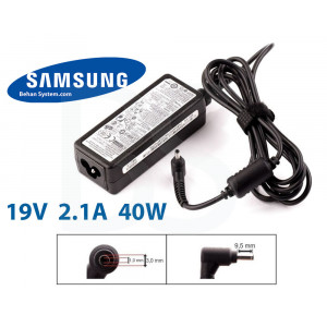 Samsung Laptop Notebook Charger Adapter 19V 2.1A 40W 3.0x1.1