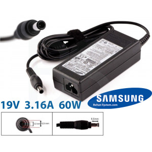 Samsung Laptop Notebook Charger Adapter 19V 3.16A 60W ADP-60