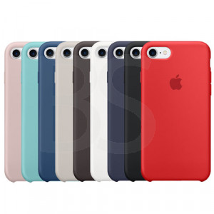 Apple Silicone Cover For iPhone 7 (قاب) کاور سیلیکونی اصلی و اوریجینال آیفون سون