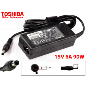 Toshiba Laptop Notebook Charger Adapter 15V 6A 90W