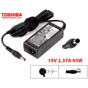 Toshiba Laptop Notebook Charger Adapter 19V 2.37A 45W PA3822U