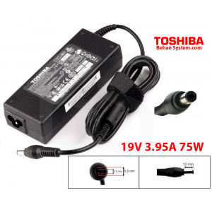 Toshiba Laptop Notebook Charger Adapter 19V 3.95A 75W PA3432E
