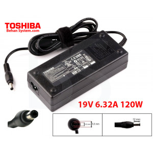Toshiba Laptop Notebook Charger Adapter 19V 6.32A 120W PA3290E