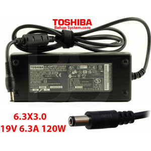 Toshiba Laptop Notebook Charger Adapter 19V 6.3A 120W