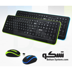 TSCO TKM 7016W Wireless Keyboard and Mouse