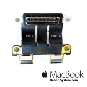 "Typ-C DC-Jack POWER IO Board CONNECTOR Apple MacBook Pro Retina 13"" A1706 820-00484-02"