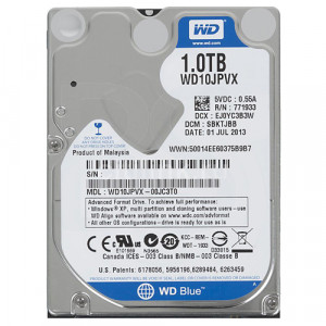Western Digital Blue 1TB NoteBook Hard Drive