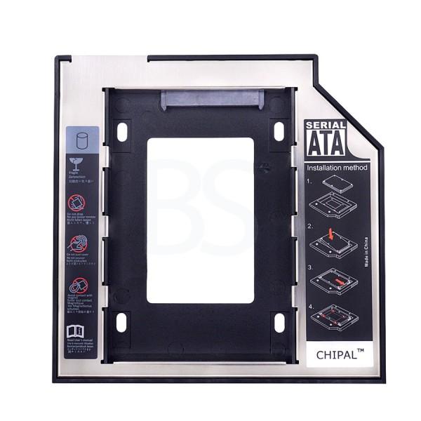 Internal 9mm Hard Drive Caddy DVD HDD SSD Case
