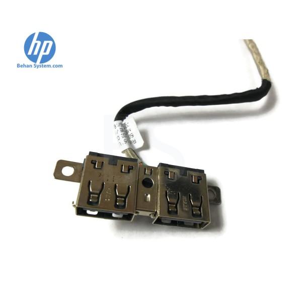 جک سوکت پورت برد بورد یو اس بی USB داخلی لپ تاپ نوت بوک اچ پی اچپی مدل پروبوک 4540 اس دو تایی همراه کابل