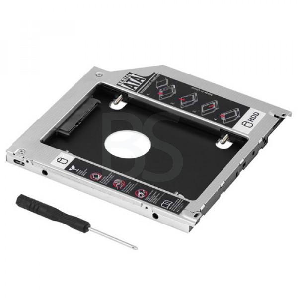 Internal 12.7mm Hard Drive Caddy HDD Case