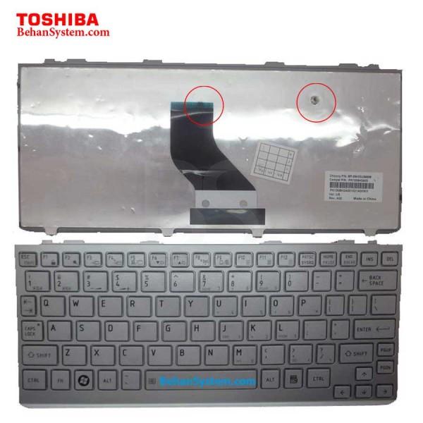 کی برد کیبورد کیبرد صفحه کلید لپ تاپ نوت بوک توشیبا مدل ستلایت Satellite NB300