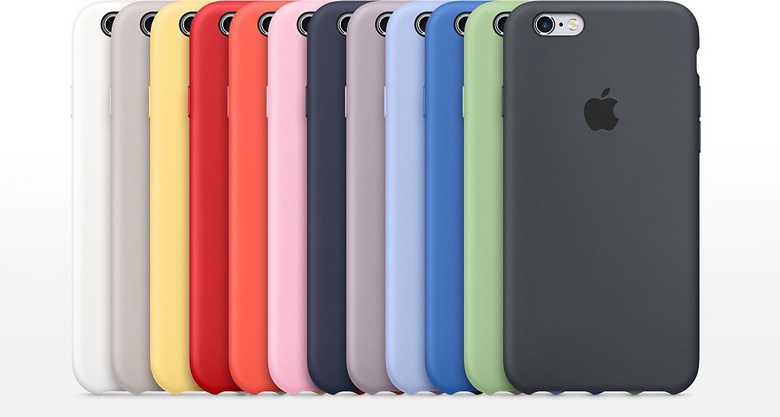 Apple Silicone Cover For iPhone 6 plus