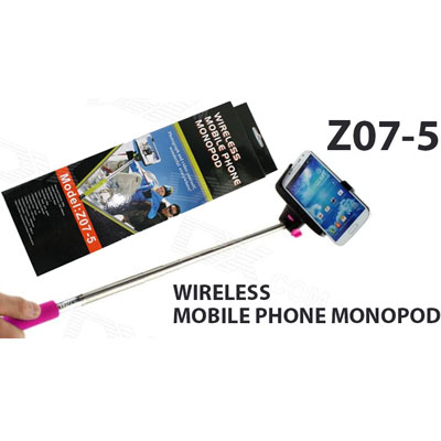 Z07-5 Wireless Stand Monopod For Mobile Phone